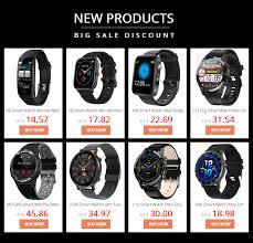 <b>T23</b> Blutooth <b>Smart Watch Body</b> Temperature Fitness Tracker Heart ...