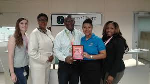 marathon news thank you grand bahama archie collins and evis missick of grand bahama power company sarah st george of the grand bahama port authority and susan g komen race for