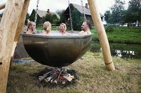 tub ideas outdoor patio spa redneck hot tub funny hot tub