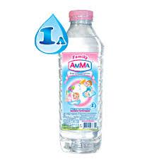 <b>Amma Вода питьевая</b> детская 1 л - Акушерство.Ru