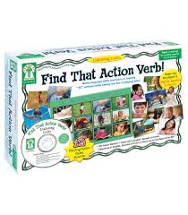 listening lotto that action verb board game grade pk  listening lotto that action verb board game