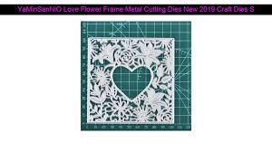 <b>YaMinSanNiO</b> Love Flower <b>Frame</b> Metal Cutting <b>Dies</b> New 2019 ...