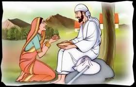 Image result for images of baba putting hand in dhuni