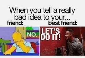 Friend And Best Friend   Funny Pictures, Quotes, Memes, Jokes via Relatably.com