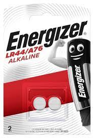 <b>Батарейка Energizer Alkaline LR44/A76</b> 1,5V 2 шт, купить в ...