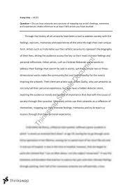 visual arts trial examination essay   frida kahlo christian  visual arts trial examination essay   frida kahlo christian boltanski ben quilty