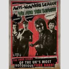 anti nowhere league anti nowhere league we are the league un cut