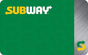Amazon.com: Subway Gift Cards - Email Delivery: Gift Cards