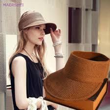 <b>MAERSHEI Summer</b> Hat For <b>Women</b> Beach Cap Equestrian ...