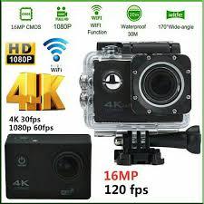 "<b>Sports Action Camera</b> WiFi 4K | ULTRA-HD 16MP | 2"" LCD ..."
