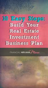 must see business plan example pins sample business plan 10 easy steps to building your real estate investment business plan