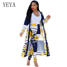 2019 <b>YEYA Women</b> Two Piece Outfits Print Jumpsuits Rompers ...