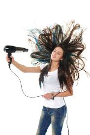 Image result for blow drying hair