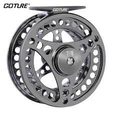 <b>Goture</b> Fly Fishing Reel 2+1BB <b>3/4 5/6 7/8</b> 9/10 WT Stainless Steel ...