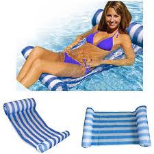 2019 <b>Stripe Swimming Pool Floats</b> Air Mattress Inflatable Sleeping ...