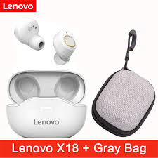 <b>Lenovo X18 Wireless</b> Bluetooth 5.0 Earphone Noise Cancelling ...