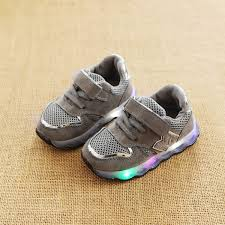 HOMZE Kids LED Shoes Sneakers <b>Fashion Cool</b> Lighted <b>Girls</b> Boys ...
