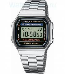 <b>мужские часы casio a-168wa-1</b>