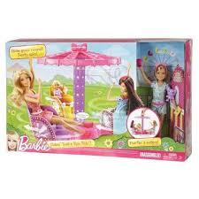 <b>Игровой набор Mattel Barbie</b> Сёстры на карусели с куклой Stacie ...