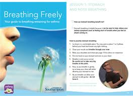 breathing exercises for asthma european respiratory society figure