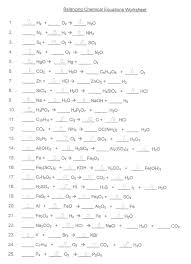 balancing chemical equations worksheet answer key printable balancing chemical equations worksheet answer key