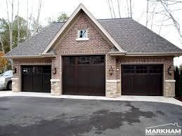 Dark Mahogany Garage Doors HOME EXTERIORS Pinterest Dark - Exterior garage door