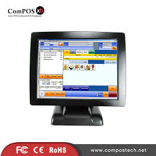 <b>Factory Directly Supply</b> All In One Pos System 15 inch TFT LED ...