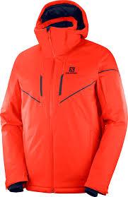 <b>Куртка</b> мужская Salomon Stormrace Jkt M, цвет: оранжевый ...