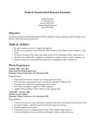 resume objective for government job shopgrat cover letter resume objective federal examples government jobs skills and abilities resume objective