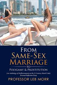 from same sex marriage to polygamy prostitution professor leb from same sex marriage to polygamy prostitution