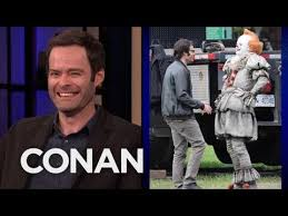 """Bill Hader Can't Stop Smiling On The <b>Set</b> Of """"It <b>2</b>"""" - YouTube"""