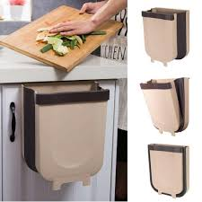 Кухня <b>Пластик мусорный бак</b> двери шкафа висит очистки Чана ...
