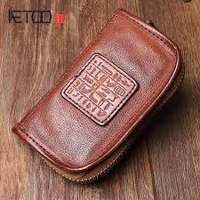 AETOO <b>Handmade</b> leather <b>key</b> case <b>Original</b> design multi function ...