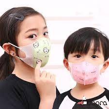 BOBORA <b>Cute Cartoon</b> Disposable Face Mask Anti-Dust <b>5pcs</b>/Pack ...
