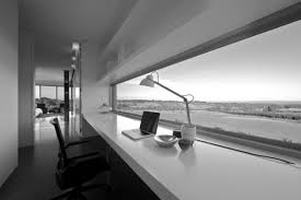 modern office desk design to beautify home excellent white lamp above near arm chair how amazing build office desk