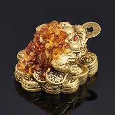 Купить <b>Жаба денежная янтарь</b> Россия <b>7</b> см Доставка по всему ...