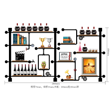 <b>High Quality</b> Bar Kitchen <b>Wine Storage</b> Shelf Holder Retro Design ...