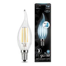 Светодиодная <b>лампа GAUSS 104801207-S</b> Filament step ...