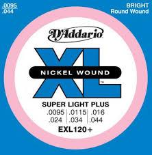 <b>D'Addario EXL120+</b> Набор 6 <b>струн</b> для <b>гитары</b> электро никель ...
