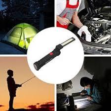 <b>COB</b> LED Work Light Lamp Flashlight Inspect <b>Folding</b> Torch ...