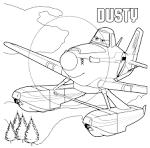 Игры раскраски самолеты огонь и вода