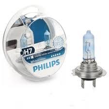 «<b>Лампы</b> H7 <b>Philips White Vision</b> 12V 55W 12972WHVSM ...