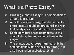 photography essay example  wwwgxartorg essay photography spearow the one and only resumethe photographic essay