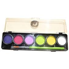 Cameleon <b>Bubble Box Mini</b> Face Paint Palette (6/colors - 8 gm ...