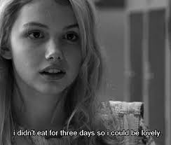 beauty eating disorder TV fat lovely skins eat anorexia bulimia ... via Relatably.com
