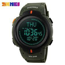 <b>Outdoor Sports</b> Compass <b>Watches</b> Hiking <b>Men Watch</b> Digital LED ...