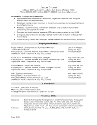 resume sample federal resume sample