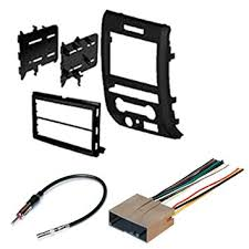amazon com ford 2009 2012 f 150 car radio stereo radio kit dash Stereo Wiring Harness ford 2009 2012 f 150 car radio stereo radio kit dash installation mounting wiring harness stereo wiring harness diagram
