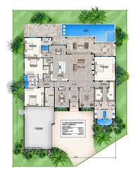ideas about Contemporary House Plans on Pinterest   House    Offered by South Florida Design  this story Coastal Contemporary house plan features great room