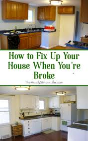 How To Finance Kitchen Remodel 17 Best Images About The Mostly Simple Life Posts On Pinterest